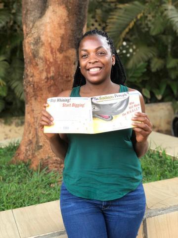 The Sandworm Principle made it to Uganda, Africa