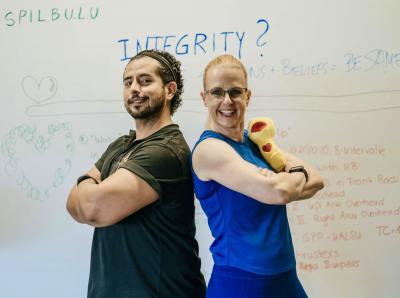 Leadership meets CrossFit Assault